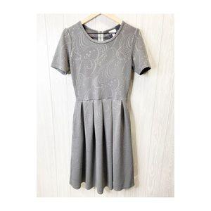 LuLaRoe Amelia Dress Fit and Flare size Medium